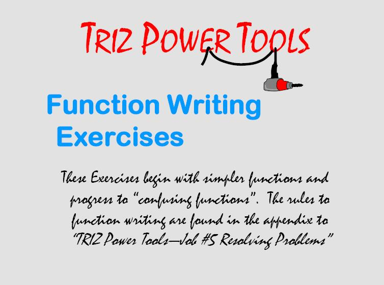 02 Function Writing Exercise